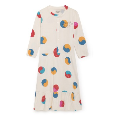 Bobo Choses Ying Yang Organic Cotton Maxi Dress -listing