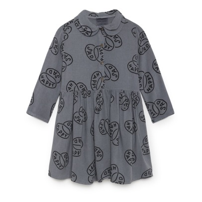 Bobo Choses Happy Sad Organic Cotton Dress -listing