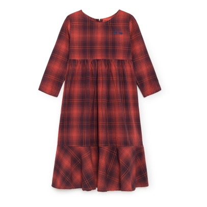 Bobo Choses Tartan Maxi Dress -listing