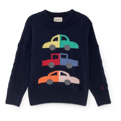 Bobo Choses Pull Laine et Cachemire Voitures-product