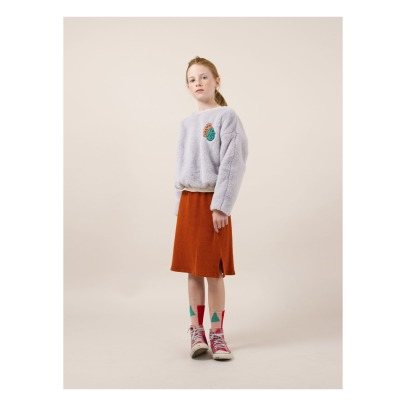 Bobo Choses Happy Faux Fur Sweatshirt -listing