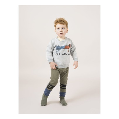 Bobo Choses Organic Cotton Cat Dog T-shirt -listing