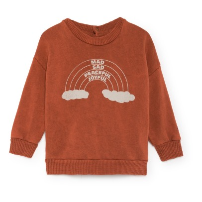 Bobo Choses Organic Cotton Rainbow Sweatshirt -product