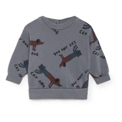 Bobo Choses Sweatshirt aus Bio-Baumwolle Cats and Dogs-listing