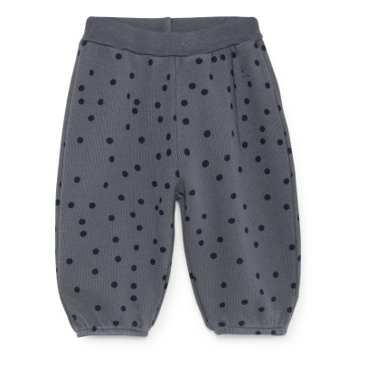 Bobo Choses Organic Cotton Polka Dot Jogging Bottoms -product
