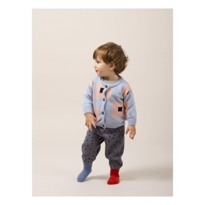 Bobo Choses Organic Cotton Polka Dot Jogging Bottoms -listing