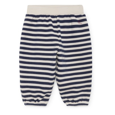 Bobo Choses Organic Cotton Striped Jogigng Bottoms -listing