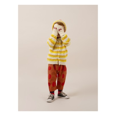 Bobo Choses Yes, No Wool and Cashmere Mittens -product