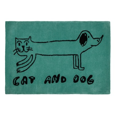 Bobo Choses Tapis Laine Nouvelle Zélande Cat and Dog-listing