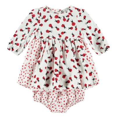 Stella McCartney Kids Vestito + Culotte Tencel Fiori -listing