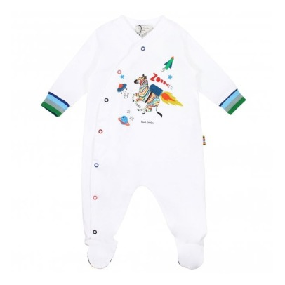 Paul Smith Junior Pyjama à Pied Zèbre Sharif-product