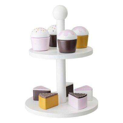 Bloomingville Kids Cake Stand with Pastries -listing