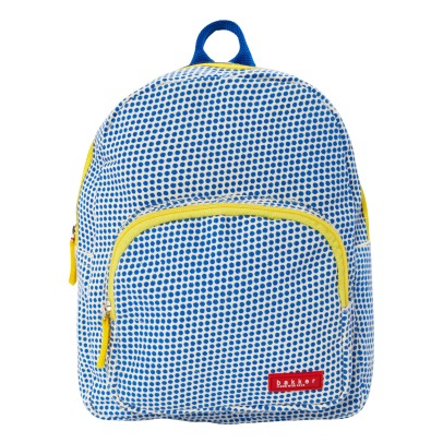 Bakker made with love Polka Dot Canvas Backpack -listing