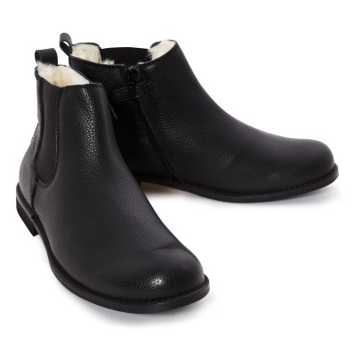 Gallucci Crystalised Leather Chelsea Boots -listing