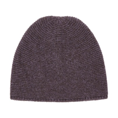 Caramel Merino Wool and Yak Hair Beanie -product