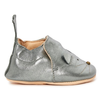 Easy Peasy Chaussons Cuir Chat Blumoo-listing