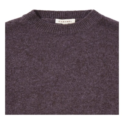 Caramel Kangaroo Merino Wool and Yak Hiar Jumper -product