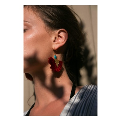 Elise Tsikis Havane Earrings -listing