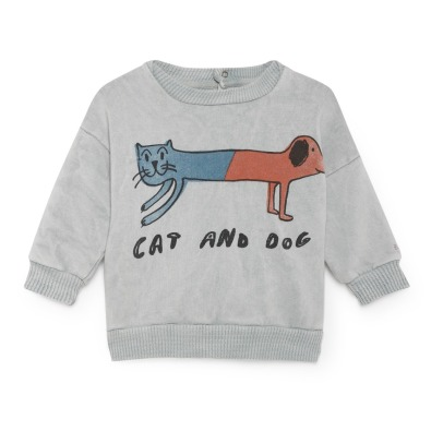 Bobo Choses Sweatshirt aus Bio-Baumwolle Cat Dog-listing