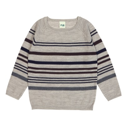 Fub Lightweight Striped Jumper -listing