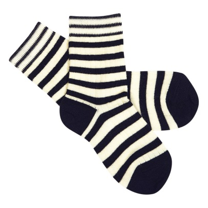 Fub Striped Woolen Socks -listing