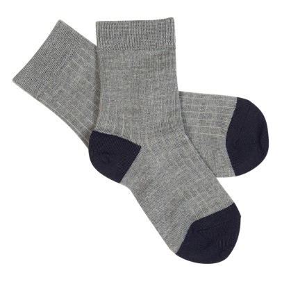 Fub Two-tone Socks-listing