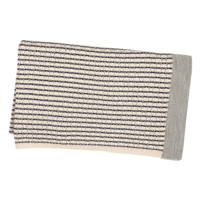 Fub Woolen Striped Blanket -listing