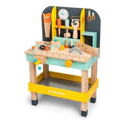 Le Toy Van Work Bench 12 Accessories -listing