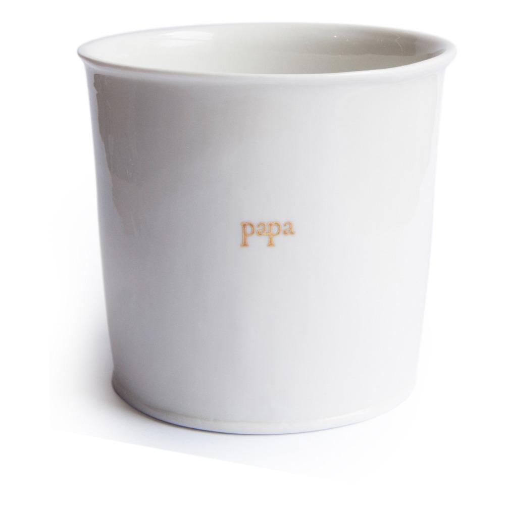 Papa Engraved Glass - Alix D. Reynis X Smallable White Alix D.