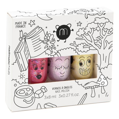 Nailmatic Kids Magic Forest Nail Polishes - Set of 3 -listing