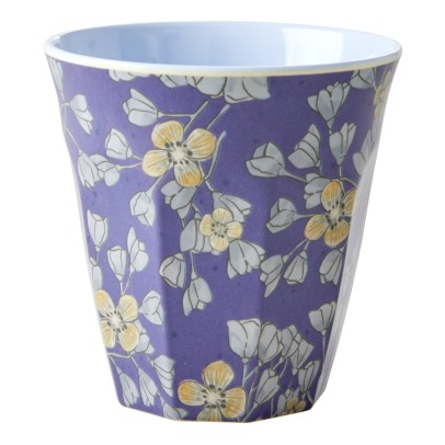 Rice Flowers Printed Cup -listing