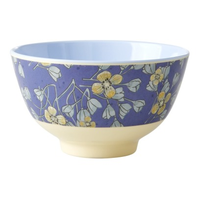 Rice Flowers Printed Bowl -listing