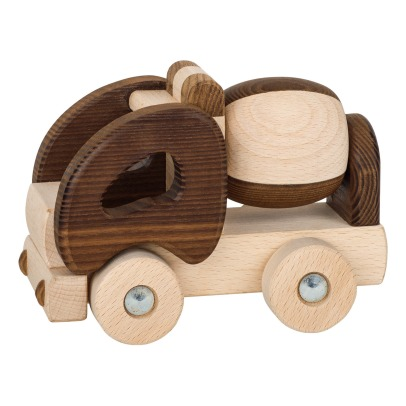 Goki Wooden Cement Mixer-listing