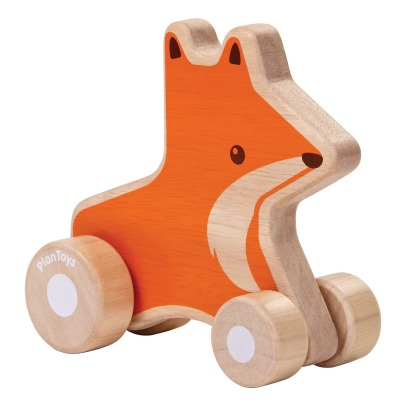 Plan Toys Wheeled Wooden Penguin -listing