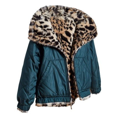 Bellerose Habitat Faux Fur Reverisble Down Jacket -listing