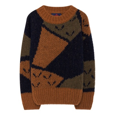 The Animals Observatory Arty Bull Alpaca Wool Jumper-listing