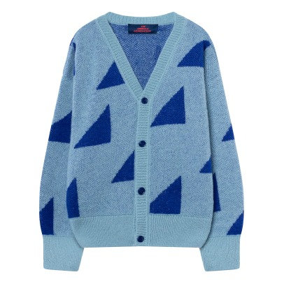 The Animals Observatory Cardigan Geometric Peasant-listing