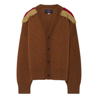 The Animals Observatory Cardigan aus Wolle Plain Peasant-listing