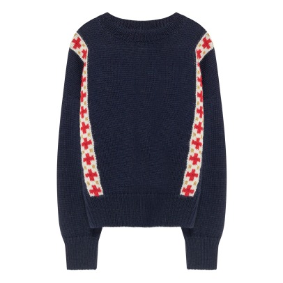 The Animals Observatory Pullover Lana Bande Bull -listing