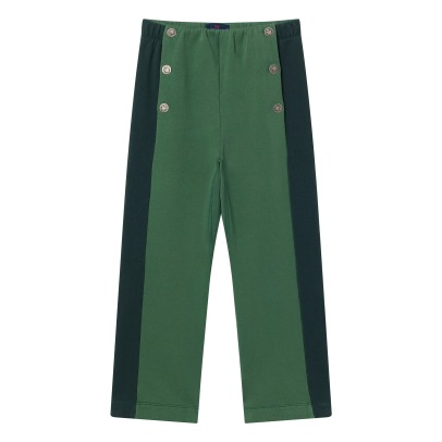 The Animals Observatory Pantalon Molleton Bicolore Magpie-listing