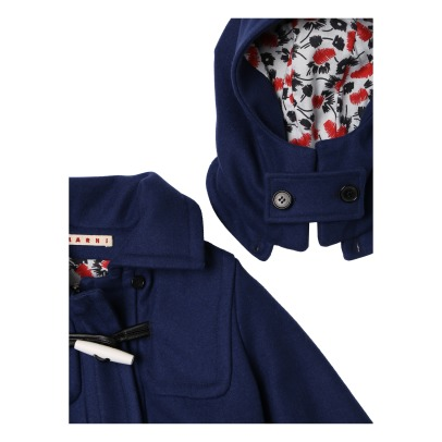 Marni Coat with Removable Hoodie -listing