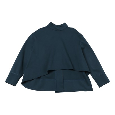 Marni Asymmetric Sweatshirt with Back Buttons -listing
