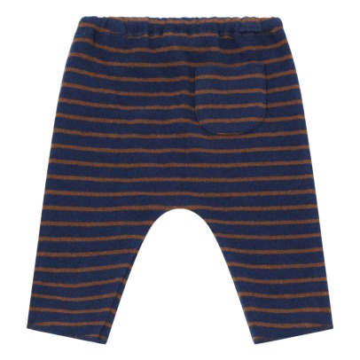 Zhoe & Tobiah Striped Knitted Sarwel Pants-listing