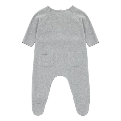 Zhoe & Tobiah Footed Knitted Romper -listing