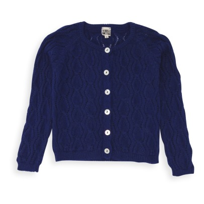 Bonton Cable Stitch Cardigan -listing