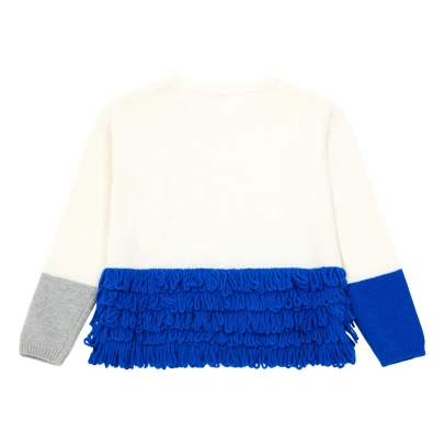 Il Gufo Pull Franges Colorblock-listing