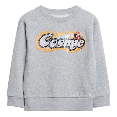Bellerose Sweat Sequins Réversibles Cosmic Banzi-listing