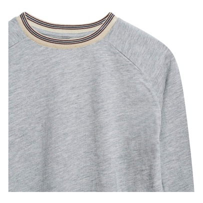 Bellerose T-Shirt Collo a coste Flane -listing