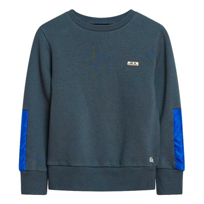Bellerose Beap Sweatshirt with Elbow Patches-product