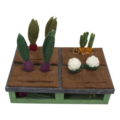 Papoose Felted Wool Garden - 16 Vegetables -listing